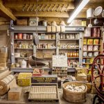 Country store inside the display barn