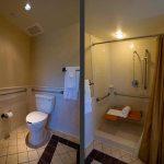 Accessible bathroom in room 3308