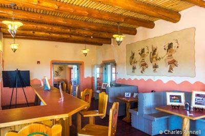 Lunchroom at the Painted Desert Inn