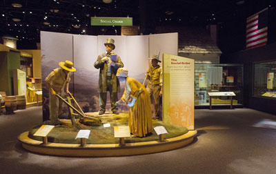 Exhibits in the North Carolina Museum of History