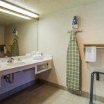Bathroom in room 158 at the Crystal Inn in Cedar City, Utah (view 2)