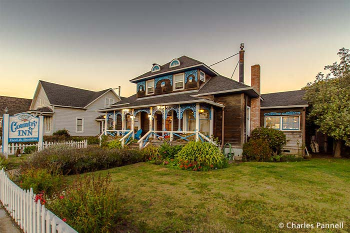 Quaint Country Inn Offers Down Home Hospitality on California Coast