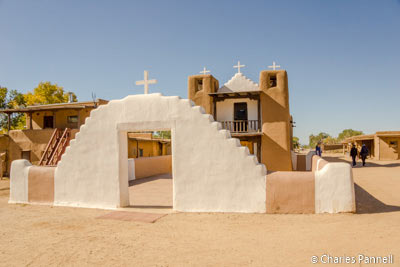 St. Jerome church at the Taos Pueblo