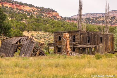 Ruins of the set from the Gunsmoke TV series