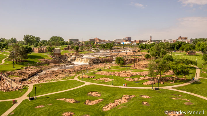 Sioux Falls viewed from the Visitor Information Center viewing platform