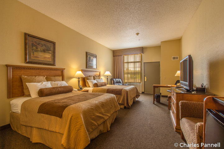 Room 118 at the Country Inn & Suites Hotel