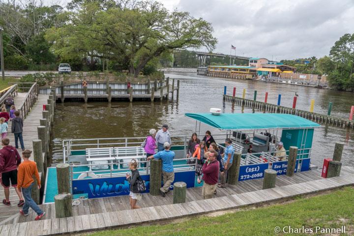 Wild Native Tours boarding dock