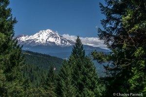 Mount Shasta viewed from Vista Point
