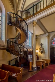Miraculous staircase at Loretto Chapel