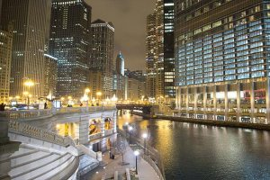 The Chicago Riverwalk