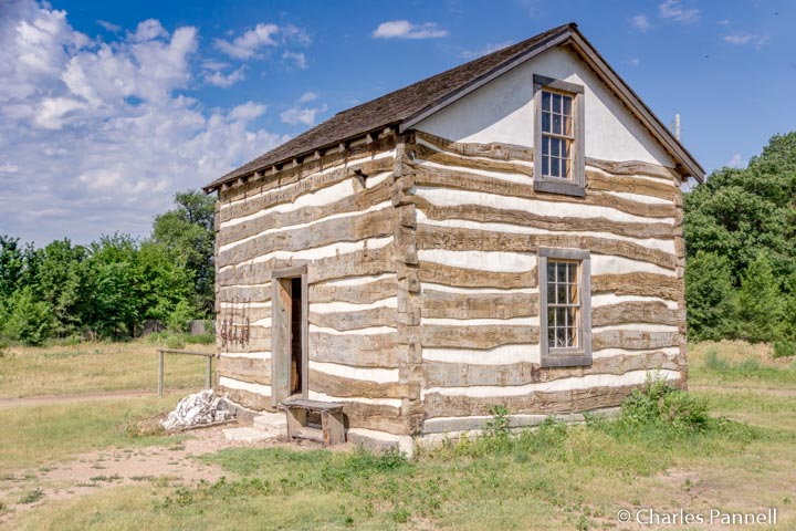 The Heller Cabin in Old Cowtown
