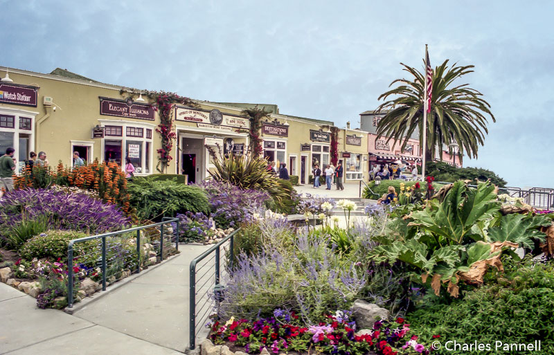 Steinbeck Plaza on Cannery Row in Monterey, California