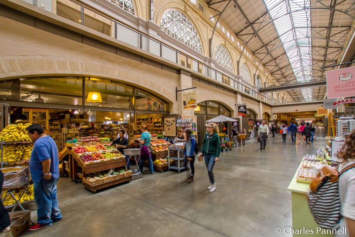 Inside the Ferry Building Marketplace