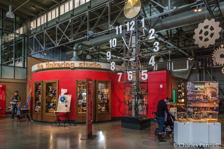 The Tinkering Studio at San Francisco's Exploratorium