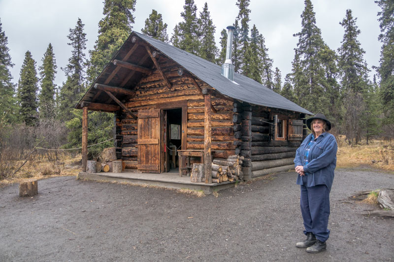Interpreter at the Savage Creek Cabin