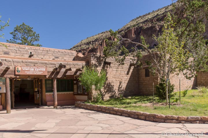 Visitor Center at Bandelier National Monument