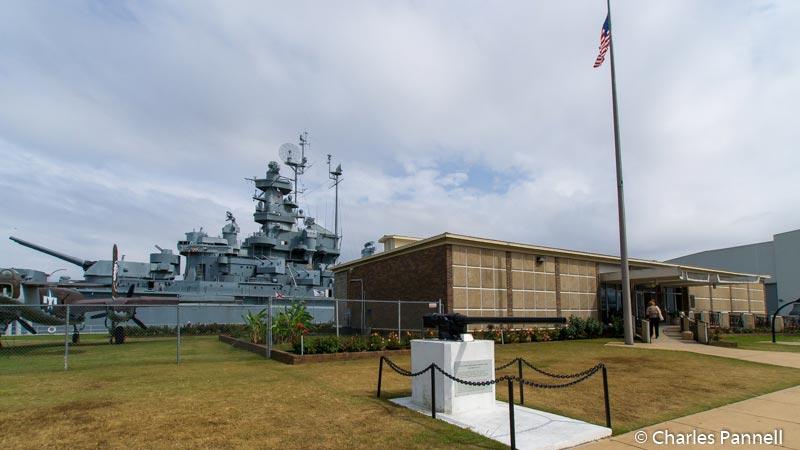 Battleship Memorial Park in Mobile Bay, Alabama