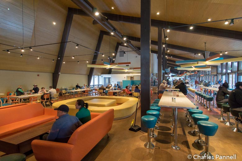 Inside the Canyon Lodge Eatery