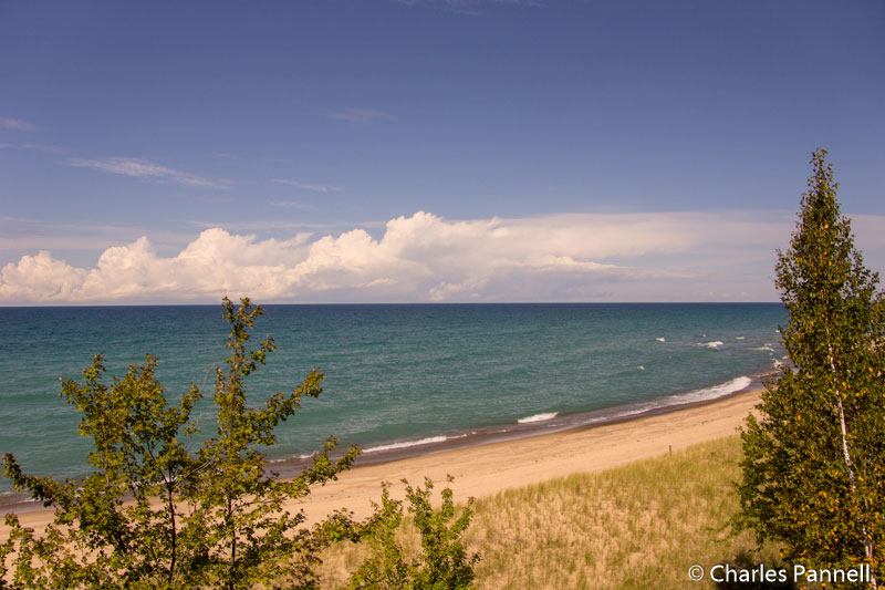 View at Lake Superior Overlook