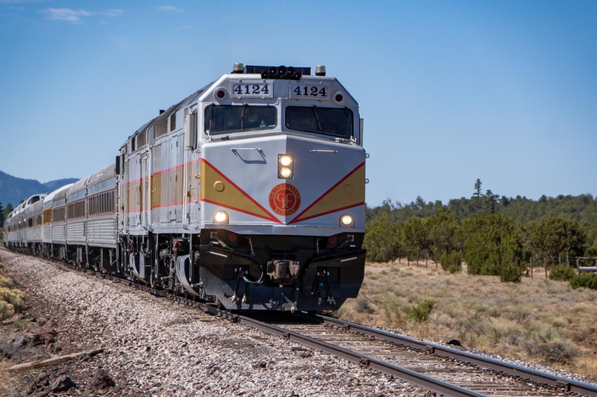 If you rather explore the Grand Canyon — and some other national parks — by rail, there are several accessible options.