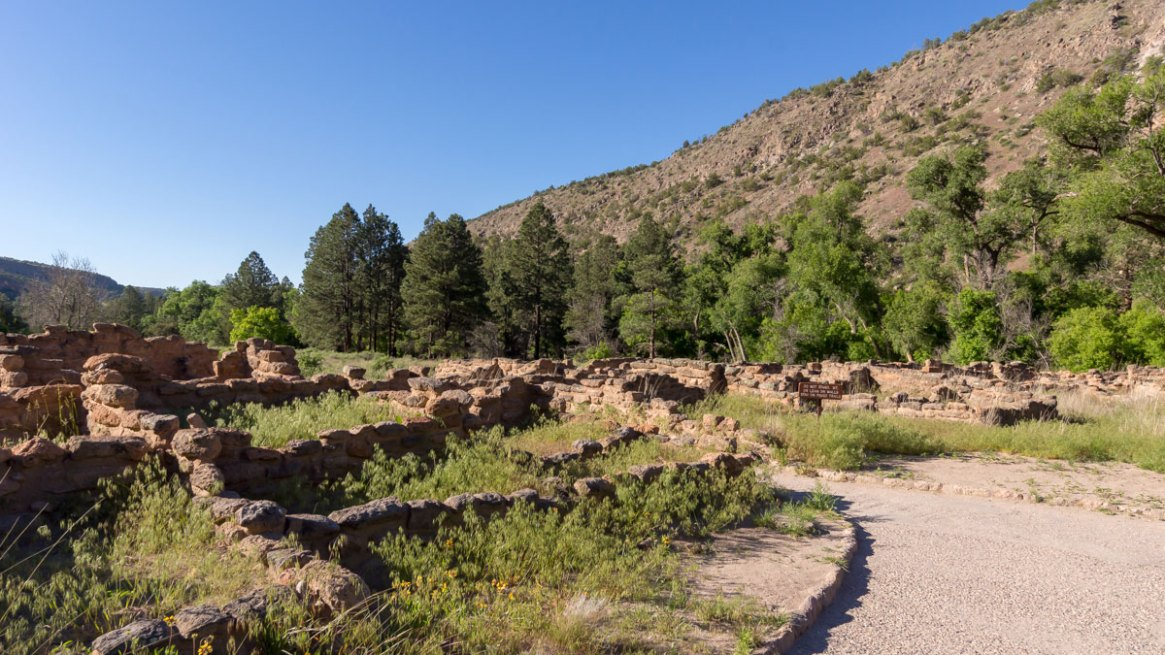 Ruins at Frijoles Canyon