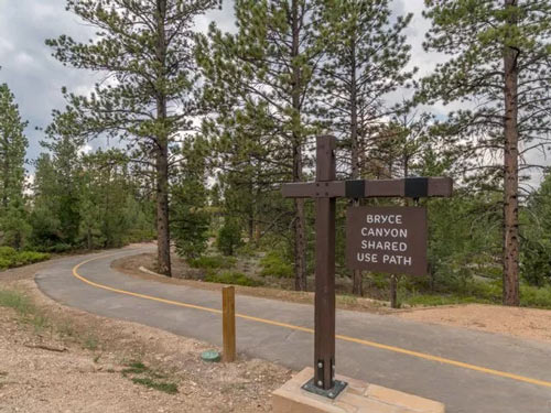 New Bryce Multiuse Trail Top Offers Top-Rate Access