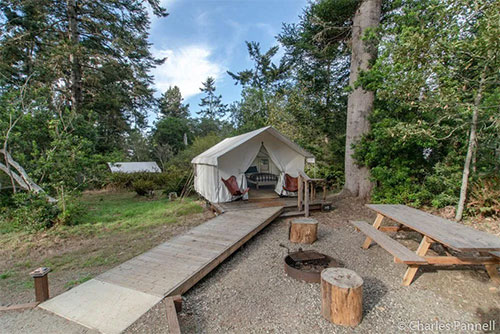 Wheelchair Accessible Glamping On Californias Rugged North Coast