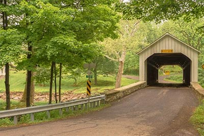 Historic Covered Bridges Dot Scenic Bucks County