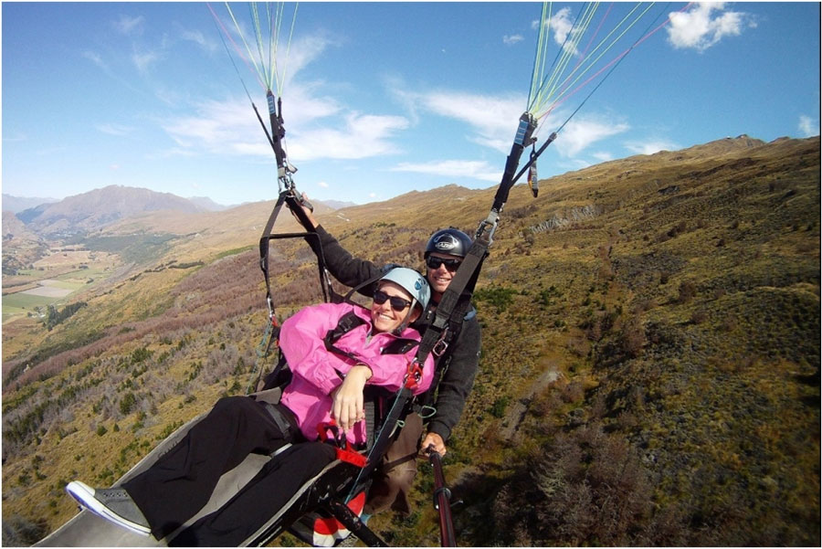Wheelchair Accessible Paragliding in New Zealand