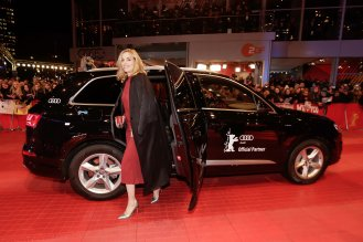 "Nina Hoss, Film ""Hail, Caesar!"", Berlinale Palast in Berlin"