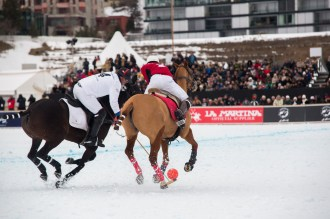 Snow Polo World Cup St Moritz, 31/01/2016, Final, Maserati vs Cartier
