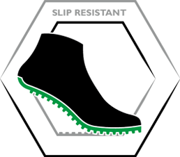 View Slip resistant outsole