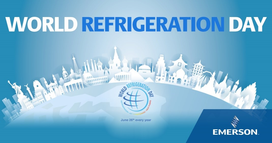 Emerson Celebrates and Sponsors World Refrigeration Day 2020