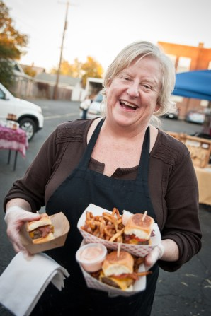 Barb from the Bistro Box shows why they're called OMG sliders