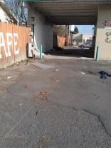 Disused carwash on NW Blvd