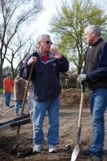 Jim and Tim talk trees.