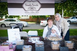 Simply Sweets with handmade brittle and baklava