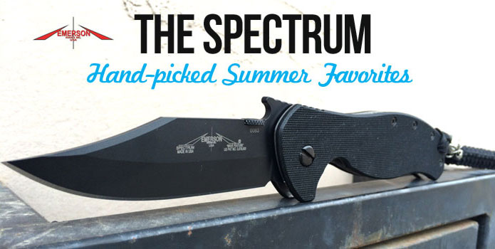 The Emerson Spectrum Knife - Signature Series Limited Edition