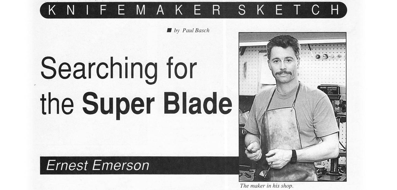 Emerson Knives Blade Magazine