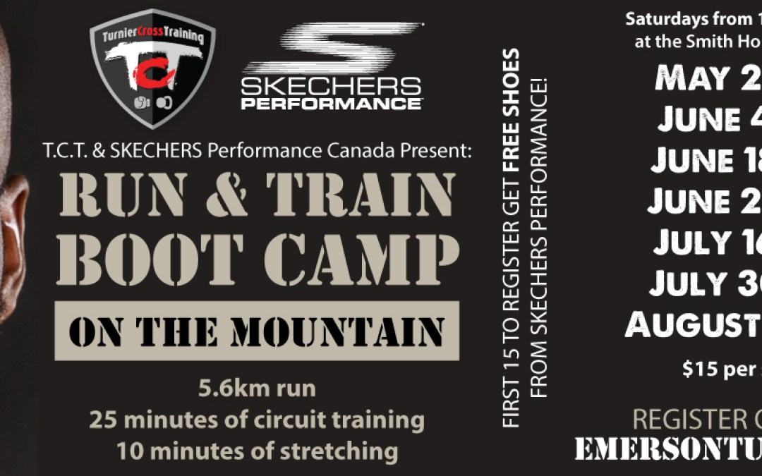 Come run and train on the mountain with us!!