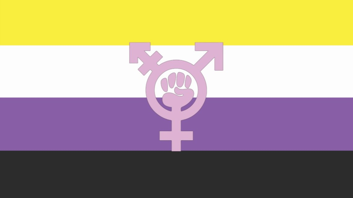 8M – Bloque Trans binario y No binario, y de racializades.