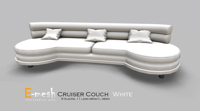 Cruiser Couch White