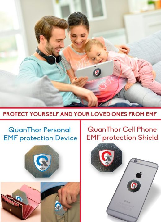 EMF shield protection CELL PHONE