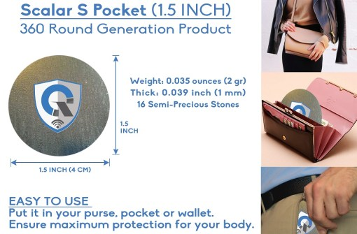 quanthor_SPocket_emf_protection_pendant_scalar_energy_shield_round_how