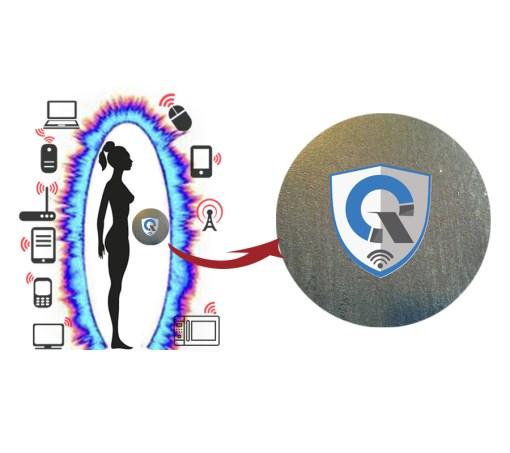 quanthor_SPocket_emf_protection_pendant_scalar_energy_shield_round