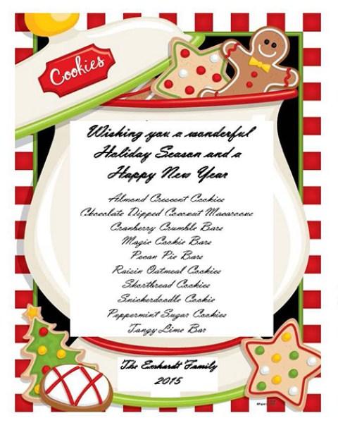 Christmas Cookies 2015