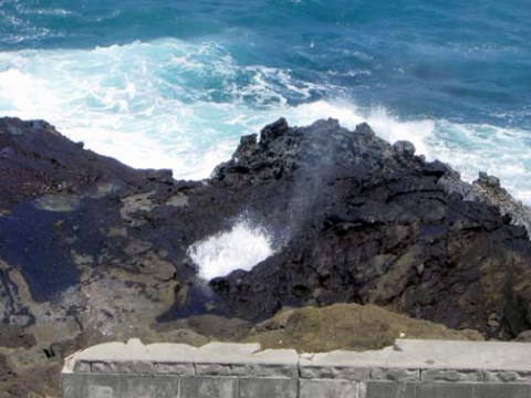 Halone Blow Hole