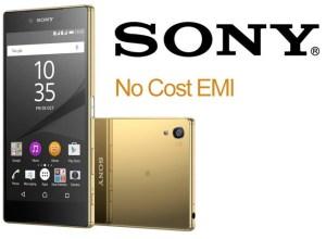 Sony Xperia No Cost EMI