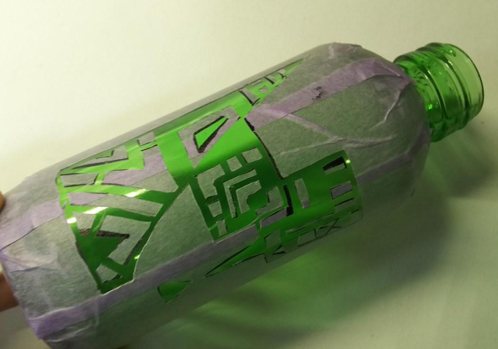 ガラス瓶DIY