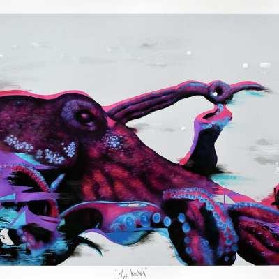Emic Kraken Print